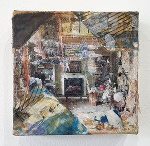 """Marble Fireplace"" by Katie Ryan"