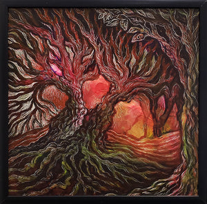 """Tree Series #1"" by Dara Larson"