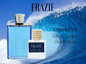 Frazie  Inspired by: Alfred Dunhill - Desire Blue 10ml x 2