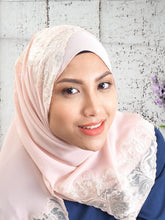 Shawl Arabella Long Chiffon in Blush Pink