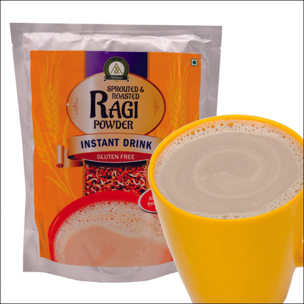 Sprouted Ragi Malt or Ragi porridge