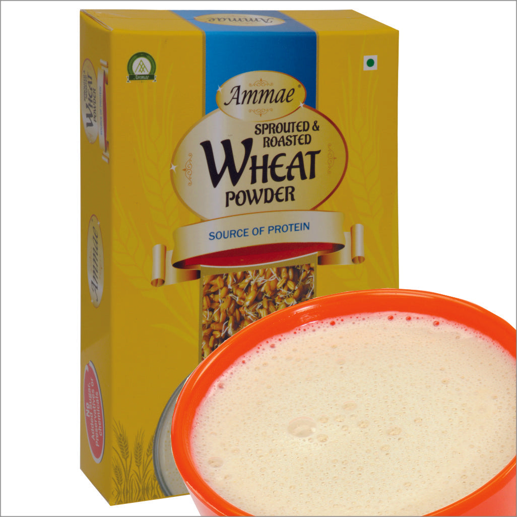 Sprouted Wheat Powder for improving digestion