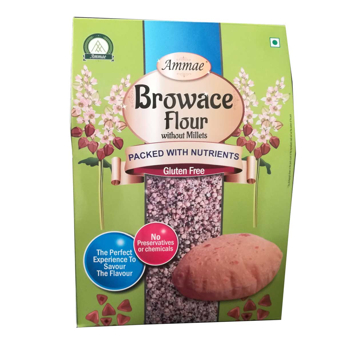 Browace Flour (Gluten free without millets)