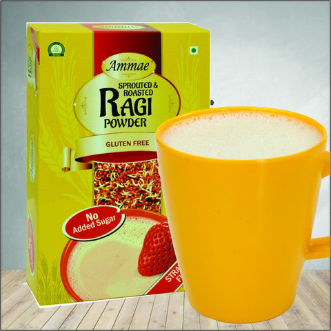 Ragi-strawberry-for-kids-ammae-sprouted-ragi-powder-strawberry