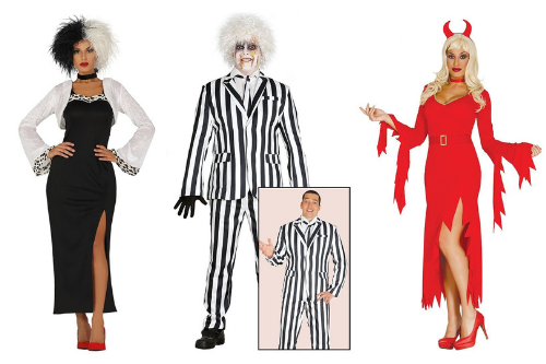 Halloween Costume Ideas: Playful Villains
