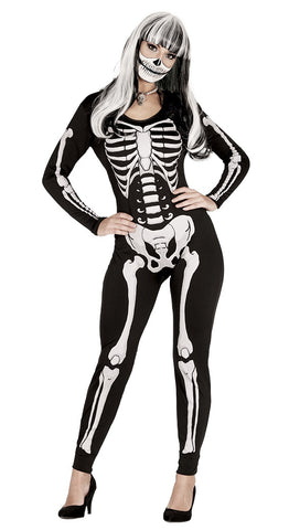 Black ladies skeleton jumpsuit