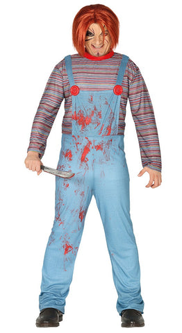 Adult Men's Chucky Halloween Costume
