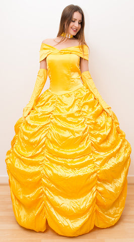 Fancy Dress Queen Belle Costume