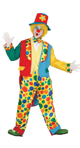 Men's clown costume