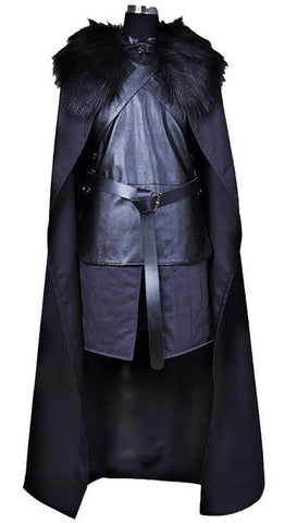 Front of deluxe Jon Snow costume