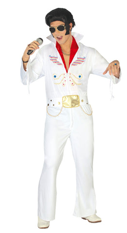 White Elvis costume