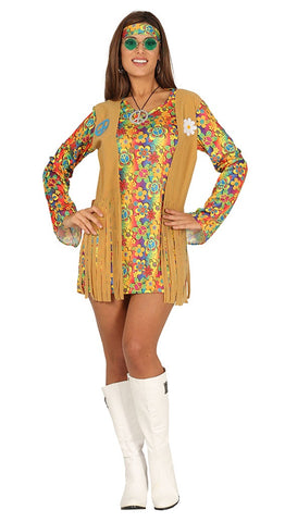 Groovy hippie chick costume
