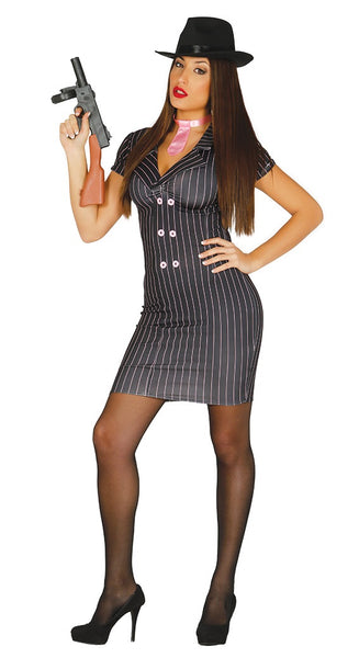 Ladies gangster costume