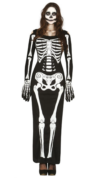 Ladies skeleton dress
