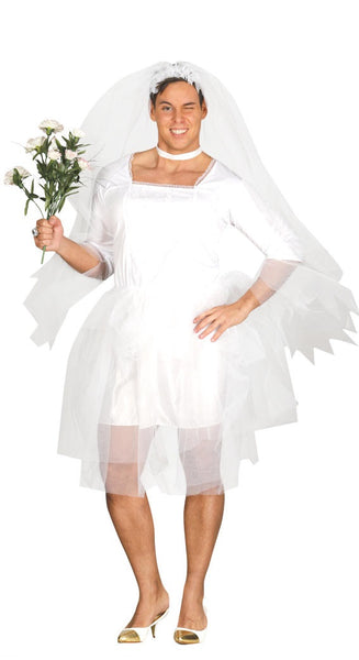 Male bride costume