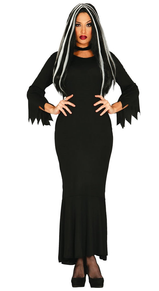 Morticia Addams Costume Uk Sizes 14 16 Fancy Dress Queen