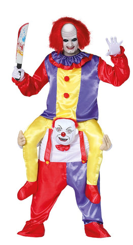 Pennywise IT piggyback costume