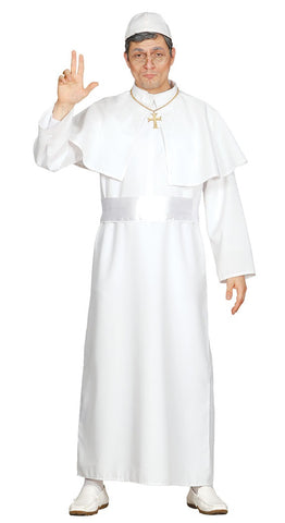 White Pope costume