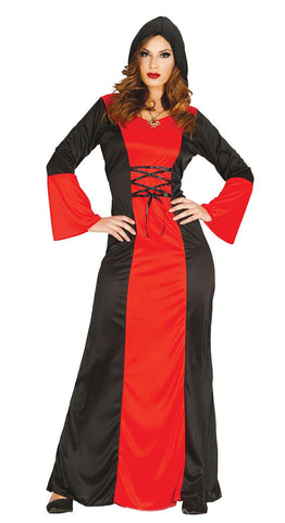 Red gothic queen costume