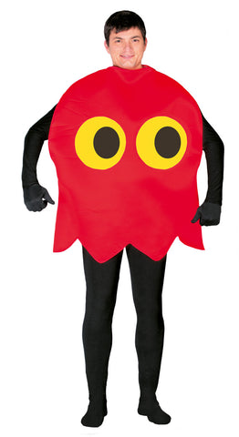 Pacman red ghost costume