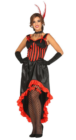 Red saloon girl costume