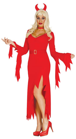 Adult Women's Sexy Devil Fancy Dress