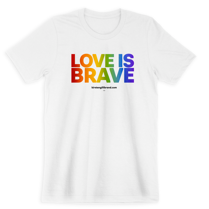 Love is Brave Gender-Neutral Tee