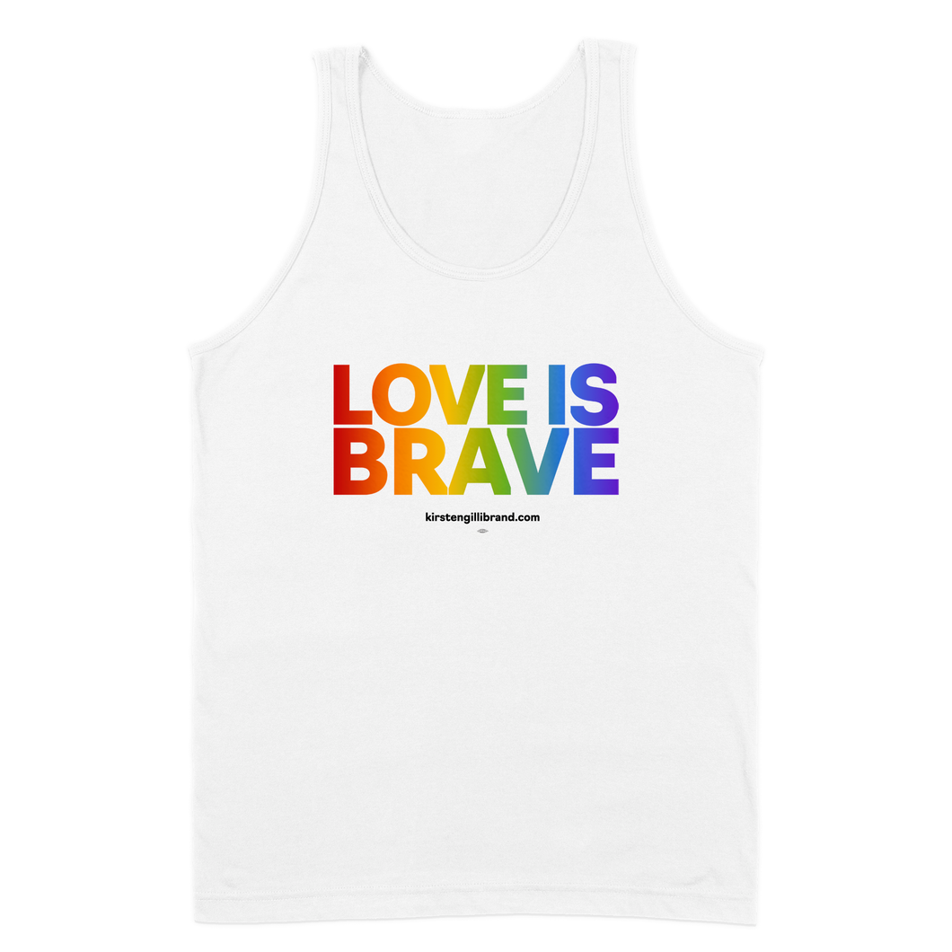 Love Is Brave Pride Tank