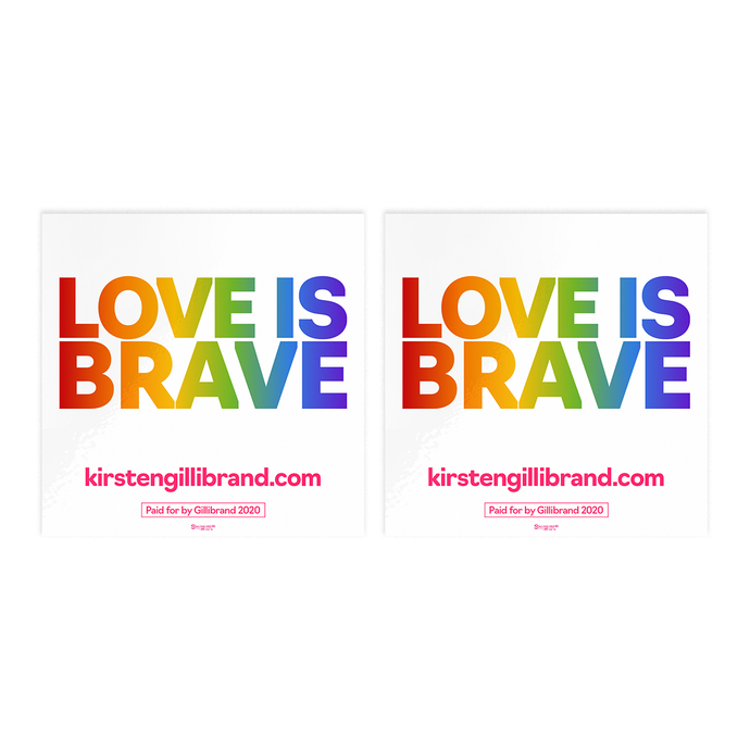 Love is Brave Sticker Pack