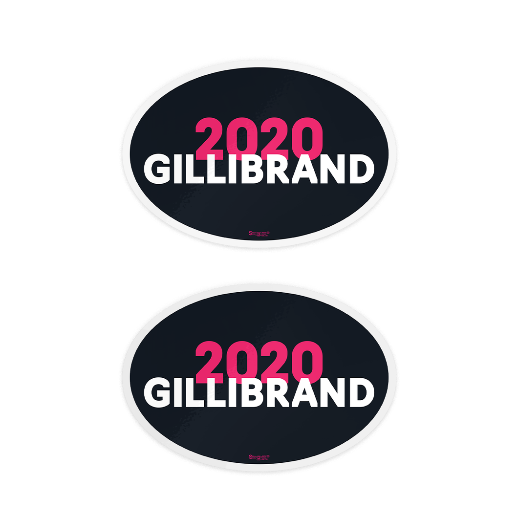 Gillibrand 2020 Bumper Sticker Pack