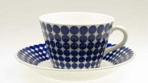 "Coffee-tea cups ""Adam"" by Gustavsberg. First year of production 1959. Tea cups out of stock."