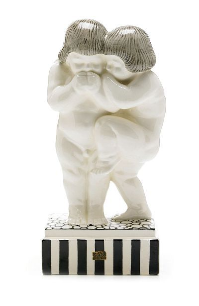 Figurine by Rudolf Podany for Keramos Austria