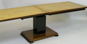 "The ""Ideal Table"" in birch by Otto Wretling. Adjustable height. 68cm/26"