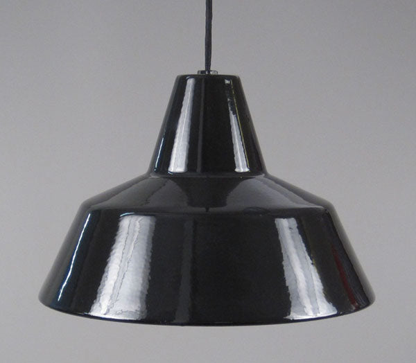 Danish enamel Ceiling lamp by Louis Poulsen. Call us for current stock in sizes and colors.