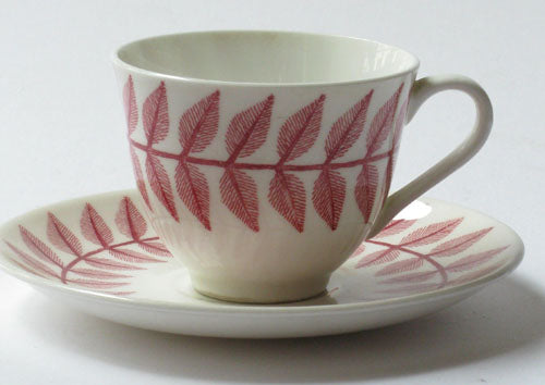 Coffee cup Maxim red by Gustavsberg. First year of production 1956.