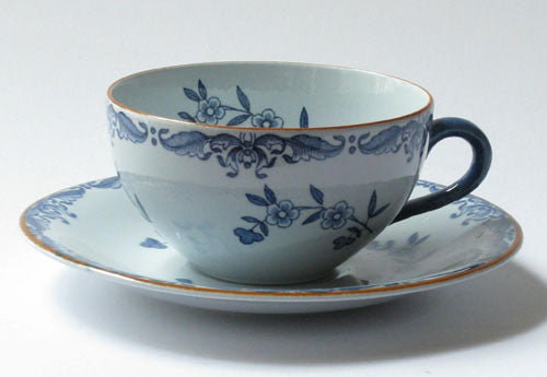 Coffee and teacup Ostindia by Rörstrand.