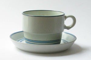 "Coffee- and teacup ""Dart"" by Gustavsberg."
