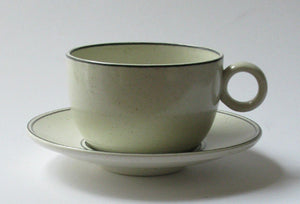 "Coffee cup and tea cup ""Birka"" by Gustavsberg. First year of production 1973. Coffee cup out of stock."