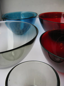 "Bowls ""Fuga"" by Orrefors."