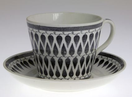 Coffe and tea cups by Gefle