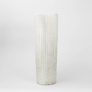 "Golvvas ""Trinidad"" av Mari Simmulson för Upsala-Ekeby, 1959-1960. Märkt UE SWEDEN 4385. 50,5cm hög ""Trinidad"" floor vase by Mari Simmulson for Upsala-Ekeby, 1959-1960. Marked UE SWEDEN 4385. H: 50,5cm/19,9"""
