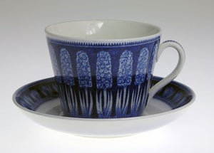 "Tea cups ""Hyacint"" by Gefle."