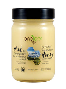 ORGANIC RAW WILDFLOWER HONEY - 500G