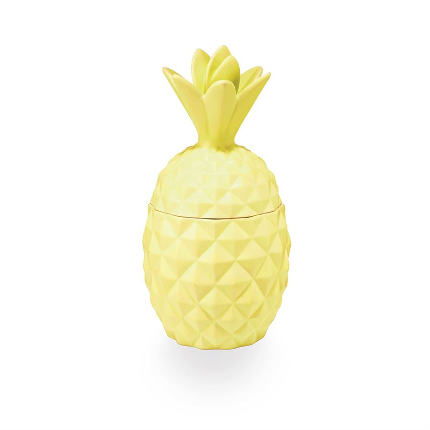 Ceramic Pineapple Candle-Pineapple Cilantro