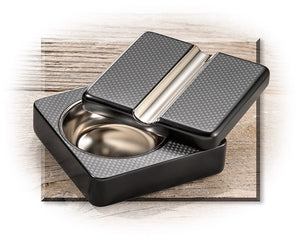 Swivel Carbon fiber Ashtray