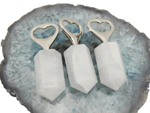 Bottle Opener-Crystal Quartz Stone