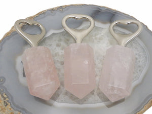 Bottle Opener-Rose Quartz