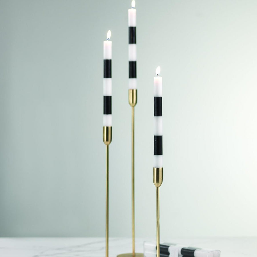 Votive Candles Black & white Candles