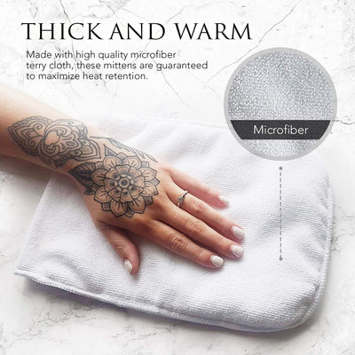 MESS Therapy Paraffin Mitts for Thermal Wax Treatment - Any Hand Size 1 Pair