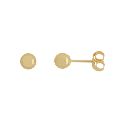 9KY ball stud earrings/BALL4